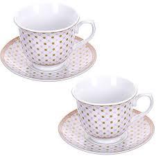 <b>Чайная пара Loraine</b> 28652 <b>220</b> мл, керамика, 4 предмета ...