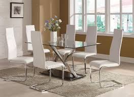 faux leather dining chair black: buy set of  modern dining white faux leather dining chairs with