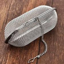 Pratical Tea Strainer Filter Hanging Safe Reusable Mesh Tea ... - Vova