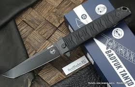 <b>Складной нож</b> Brutalica Badyuk Tanto <b>Бадюк</b> Танто black/<b>blackwash</b>