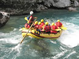 Water rafting in Coorg