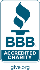 Better Business Bureau BBB Accredited Charity Reverse <b>color</b> ...