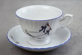 Купить <b>Чайная пара 220</b> мл Гуси с доставкой по выгодной цене в ...