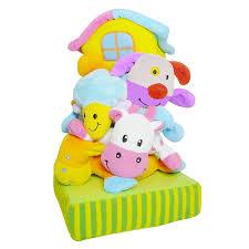 """<b>Развивающая игрушка</b>-пирамидка <b>Biba</b> Toys """"Ферма"""" - купить по ..."""