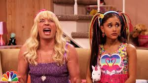 """Ew!"" with Ariana Grande - YouTube"