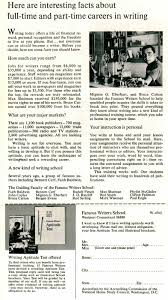 rod serling famous writers school book insert ad famous writers school s pitch