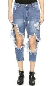 Image result for distressed jeans
