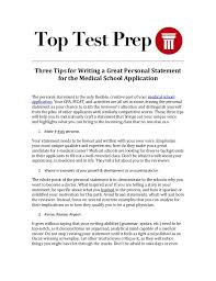 Personal Statement Examples For College Essays Really good medical school personal statements