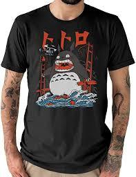 My Neighbour <b>Totoro Attack</b> T-Shirt Studio Ghibli Inspired Unisex ...