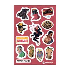 <b>Набор стикеров Marvel</b> #3 | Купить в интернет-магазине ...