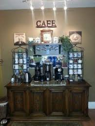 home coffee bars coffee and bar on pinterest attractive coffee bar home 4