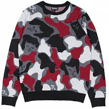 <b>Свитер</b> RIPNDIP NERMCAMO KNIT <b>SWEATER</b> SS19 купить в ...