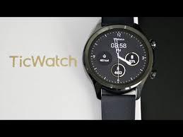 Mobvoi <b>TicWatch C2</b> Smartwatch - Google <b>WearOS</b> - AMOLED ...