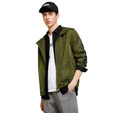 Metersbonwe Men's Bomber Jacket <b>New Simple</b> Casual Trend ...