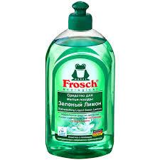 Гель для <b>мытья</b> посуды <b>Frosch</b> лимон, 500 мл | Магнит Косметик