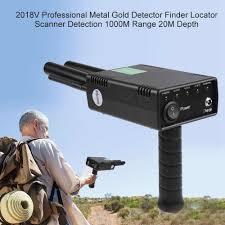2018V Professional Metal <b>Gold Detector</b> Finder 1000M Range 20M ...