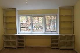 built in bookcase desk plans built bookcase desk ideas