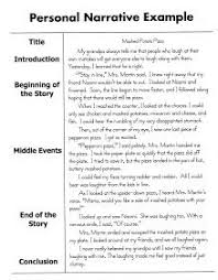 writing student and graphic organizers on pinterest personal narrative essay sample