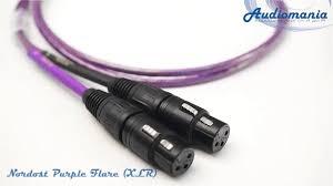 <b>Кабель межблочный аналоговый</b> Nordost Purple Flare (<b>XLR</b> ...