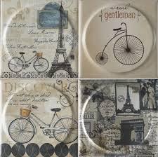 <b>Керамическая плитка Mayolica Vintage</b> VintageParisMoon 20x20 ...