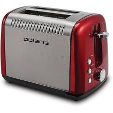<b>Тостер Polaris PET 0915A</b> 900Вт красный