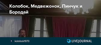 Колобок, Медвежонок, <b>Пинчук</b> и Бородай: kolobok1973 ...