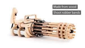 Rubber Band Minigun by Weaponized <b>T</b>-<b>Rex</b> » <b>180K</b> Funded & 2nd ...