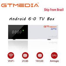 Freesat/<b>GTmedia GTC</b> Satellite Receiver android 6.0 <b>DVB</b>-S2/<b>T2</b>/<b>C</b> ...