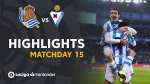 Highlights Real Sociedad vs <b>SD</b> Eibar (<b>4</b>-<b>1</b>) - YouTube
