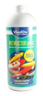 <b>VLADOX</b>, ИХТИОСТОП pond 1000 мл на 20000 л, артикул ...