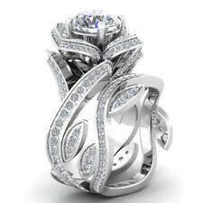 Sterling Silver Wedding Ring Sets | eBay