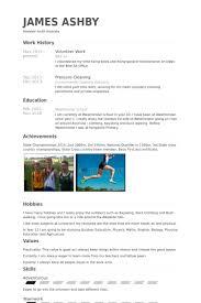 volunteer work resume samples   visualcv resume samples databasevolunteer work resume samples