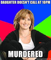 Sheltering Suburban Mom | Meme Generator via Relatably.com