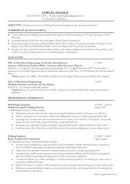 oil refinery resume production supervisor resume