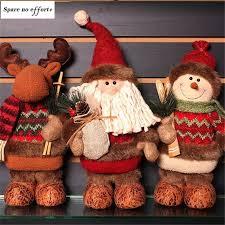 <b>Navidad</b> Figurine <b>Christmas</b> Decorations <b>for</b> Home Santa Claus ...