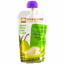 happytot, Organic Superfoods, <b>Green Bean</b>, Pear and Pea, 4.22 oz ...