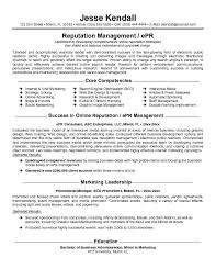 resume consultant free sample   essay and resume    sample resume  resume consultant for reputation management or epr with core competencies feat epr management