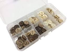 longshine-us 100pcs 13mm 10 Patterns 2 Hole Mixed ... - Amazon.com