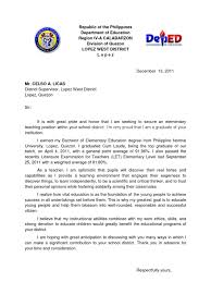 Sample Application Letter For Volunteer Nurses In The Philippines     NourElec