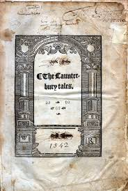 chaucer and his works title page
