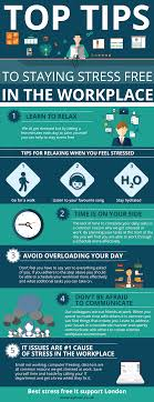 the top tips to staying stress in the workplace infographic the top tips to staying stress in the workplace infographic was designed the help everyone