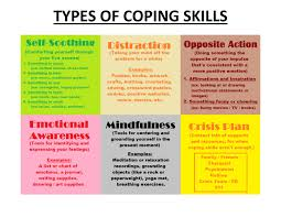 best ideas about coping skills therapy therapy different types of coping skills self soothing distraction opposite action emotional