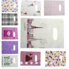New <b>100Pcs Lot</b> Pretty Plastic Gift Bag Shopping Bags 14x20cm ...