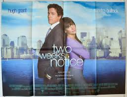 two weeks notice original cinema movie poster from pastposters two weeks notice view larger image