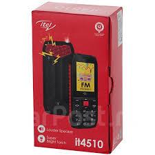 """<b>Сотовый телефон Itel</b> it4510 (2.4"""", красный) - Смартфоны и ..."""