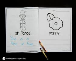 Looking for Veterans Day activities for kids  These Veterans Day writing centers are the perfect The Kindergarten Connection