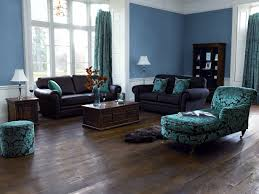 black and brown living room decor blue paint color ideas for living room with dark furniture and dark ha