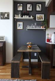 small dining room decor small space dining room design tips apartment therapy