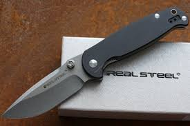 Практичный <b>нож складной</b> H6 <b>Blue Sheep</b> Real Steel, КНР
