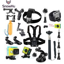 <b>SnowHu for Xiaomi Yi</b> Accessories Set Wateraproof Case Protective ...